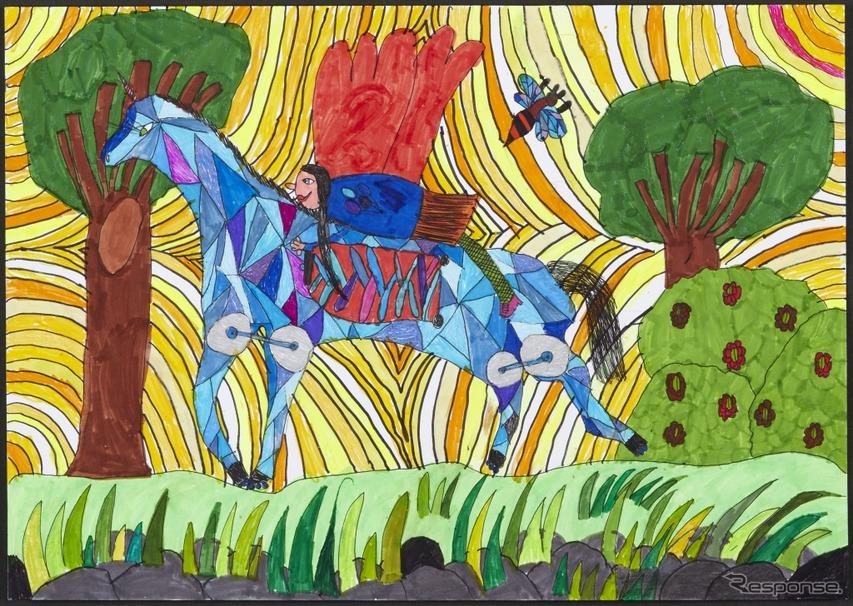 「惑星のための未来のクルマ」ヘレナ・ザイデルさん(7歳・ポーランド)