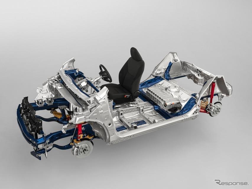 トヨタ、次世代コンパクトカー向け車台を発表…「GA-B」