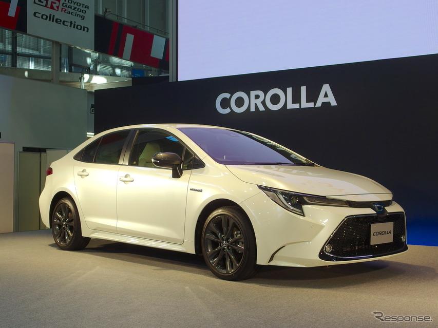 トヨタ・カローラ新型発表