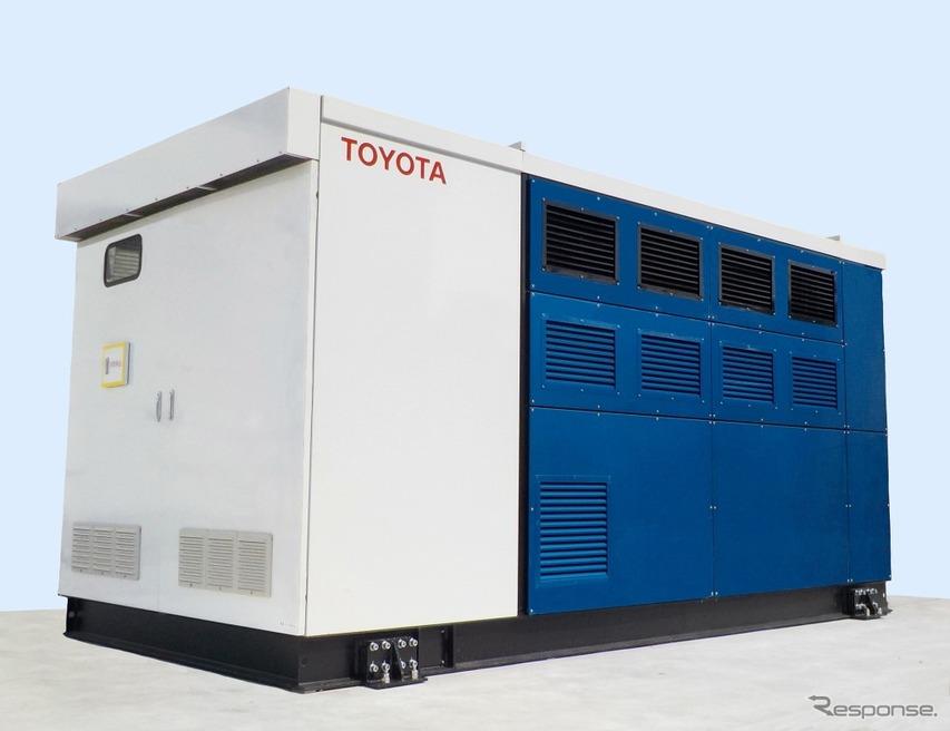 トヨタ自動車、本社工場に定置式FC発電機を導入---MIRAI 用FCシステムを活用