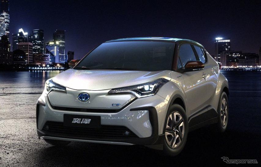 トヨタC-HRの兄弟車、イゾア のEV(参考画像)