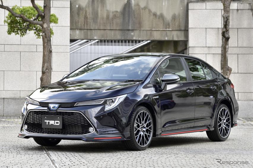 トヨタ カローラ TRD仕様