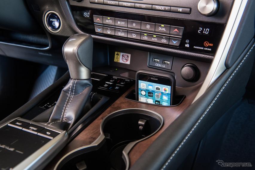 レクサス RX の2020年モデル(欧州仕様)