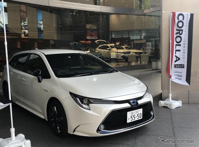 好調な受注のトヨタ カローラ 新型