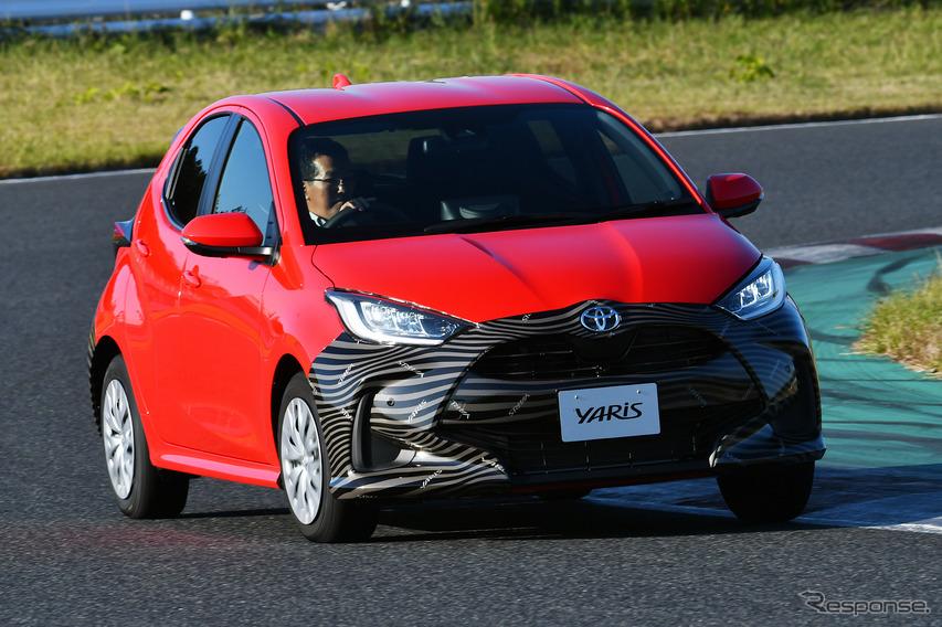 【トヨタ ヤリス 新型】プロトタイプに最速試乗!デザインの攻め具合と「軽さ」を実感