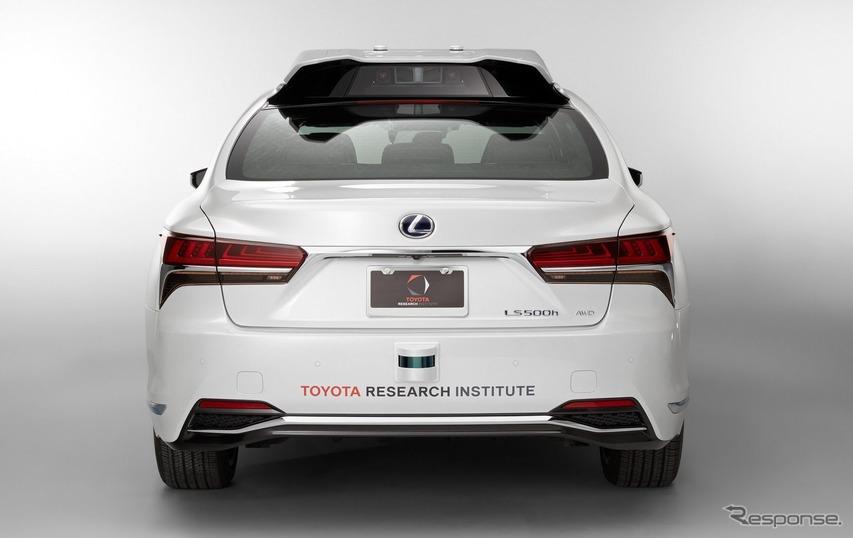 トヨタの新型自動運転実験車 TRI-P4レクサスLSベース(参考画像)