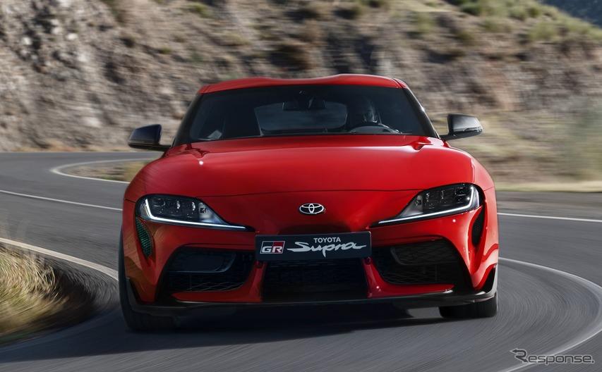 トヨタ スープラ 新型、ゴールデンステアリングホイール賞…最高のスポーツカーに