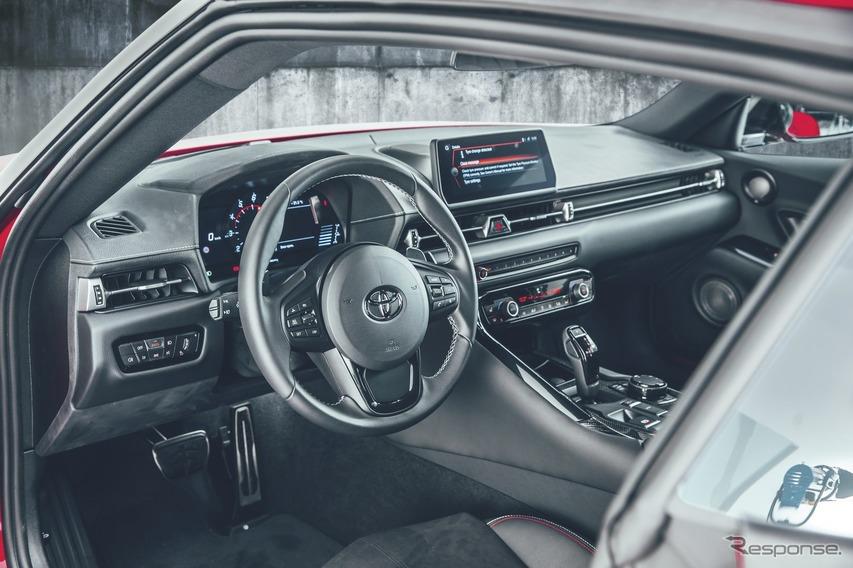 トヨタ・スープラ新型(欧州仕様)
