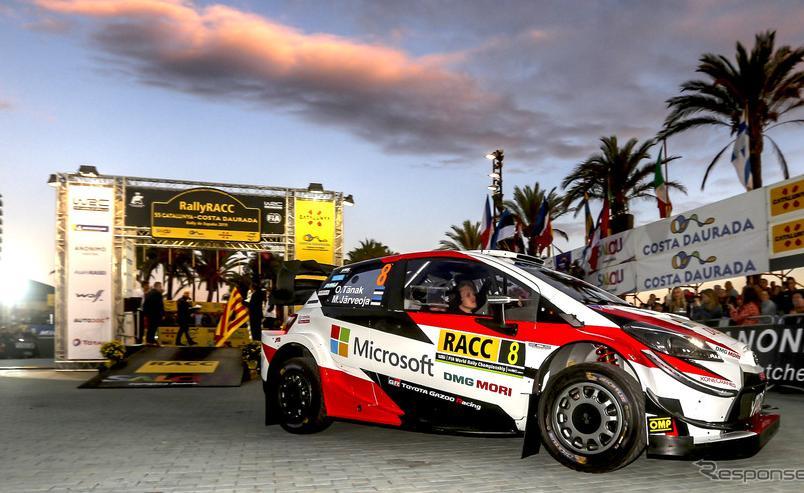 【WRC】最終戦中止を受けて、トヨタの豊田章男チーム総代表がコメント…「全冠獲得の喜びは来年、日本で」
