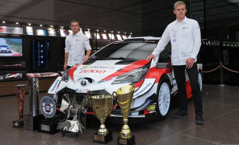 【WRC】トヨタがシーズンエンド会見を実施…初戴冠のタナク「夢が叶った。勝てる自信を常にもって戦えた」