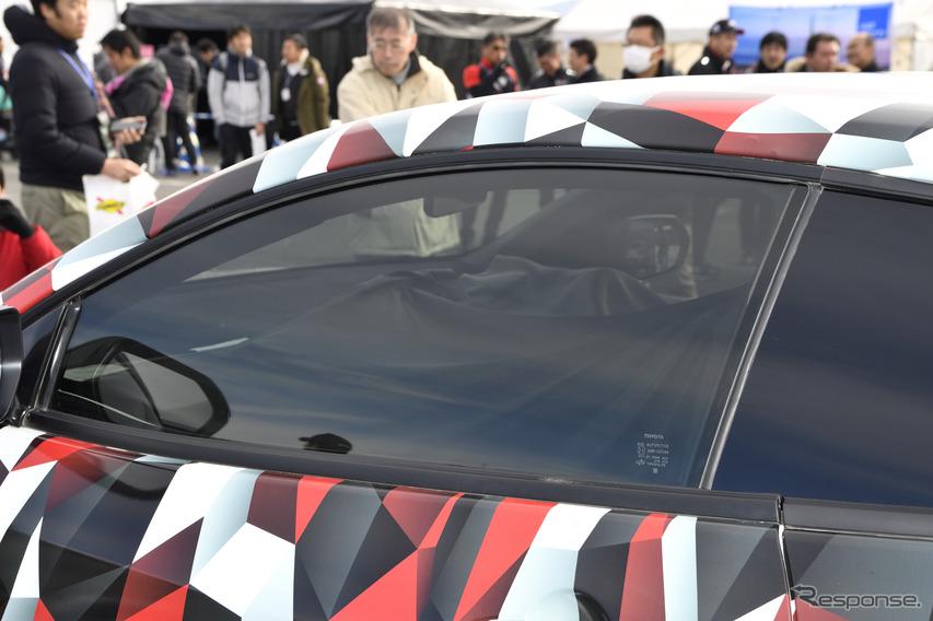 トヨタGAZOOレーシングフェスティバル  GRヤリス プロトタイプ