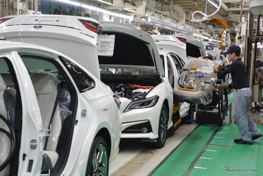 トヨタ自動車元町工場(参考画像)