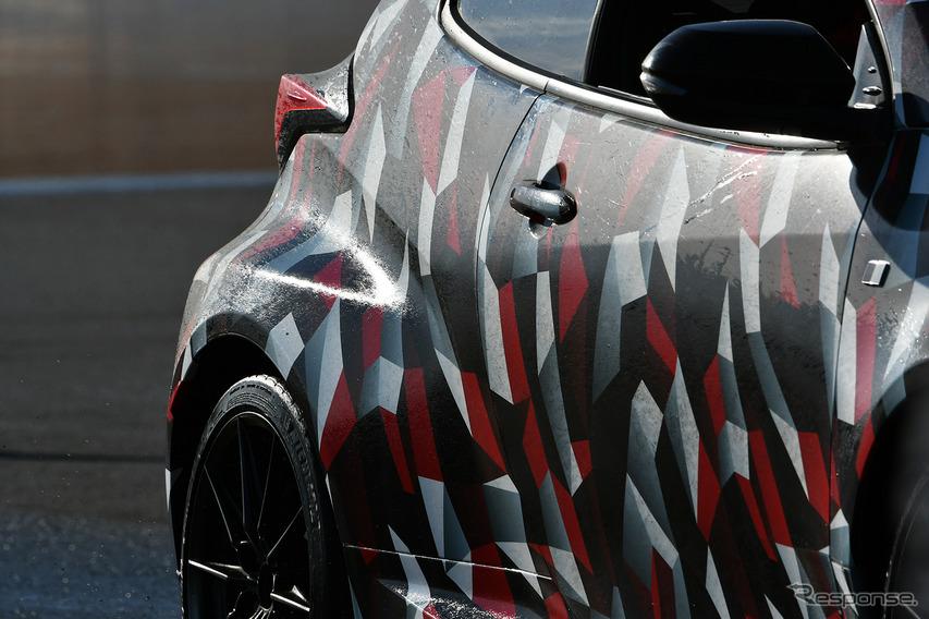 トヨタ GRヤリス プロトタイプ