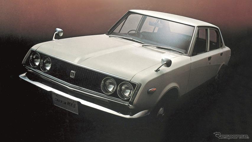 初代:コロナマークII(1968年)