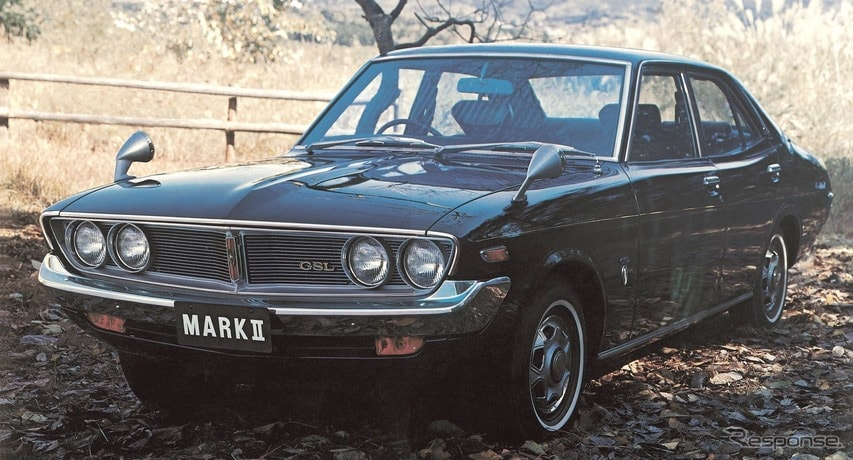 2代目:コロナマークII(1972年)