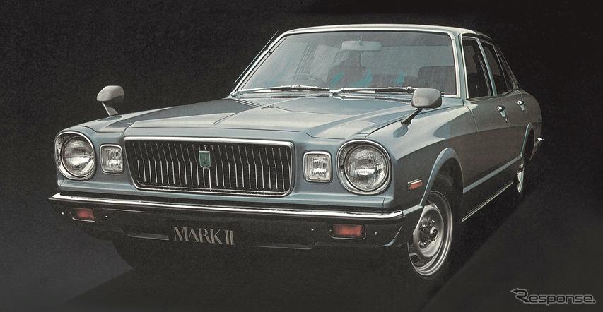 3代目:コロナマークII(1976年)