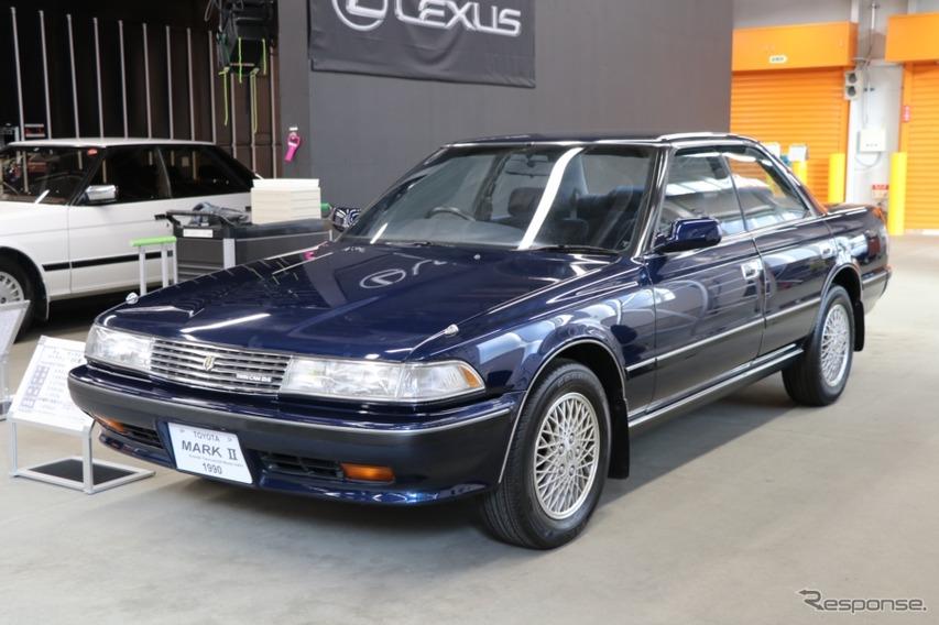 6代目はバブル全盛時代に販売されたモデル。1990年には年間の販売台数でカローラを抜いた。