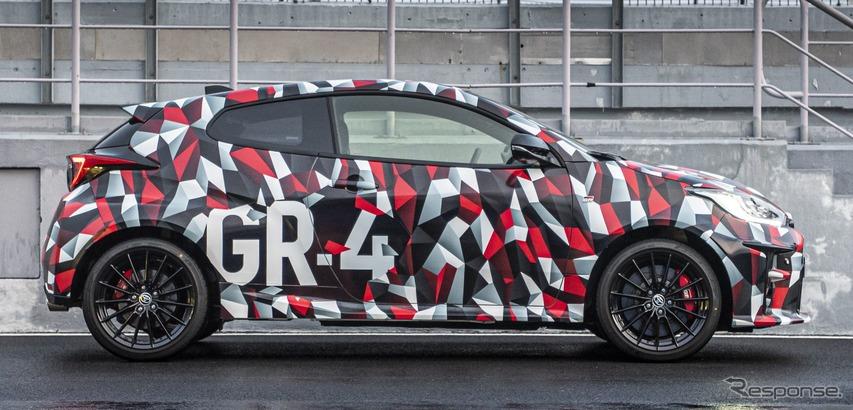 トヨタ GR ヤリスのプロトタイプ(欧州仕様車)