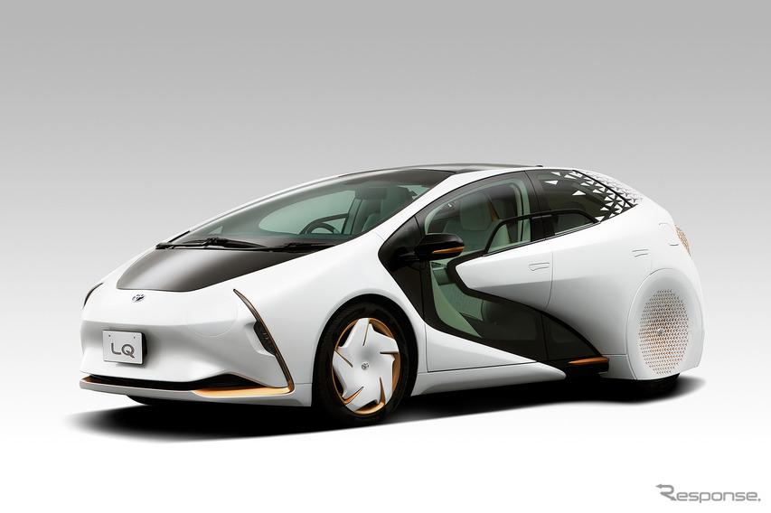AIエージェント搭載のEV、トヨタ『LQ』…CES 2020に出展へ