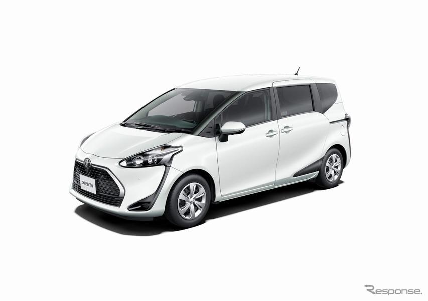 トヨタ シエンタ、安全・安心装備充実の特別仕様車発売 スーパーUVカット&シートヒーターも装備