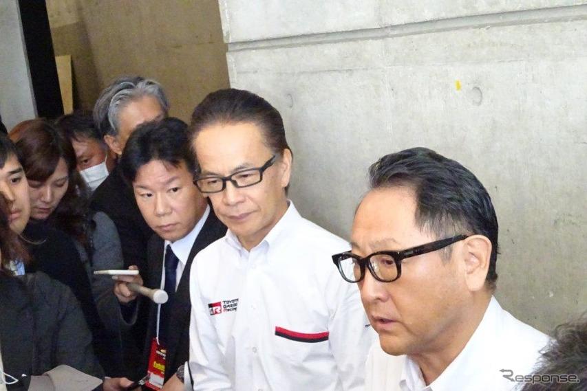 トヨタ 豊田社長「レースに勝つために造りあげたクルマ」…東京オートサロン2020でGRヤリス初公開