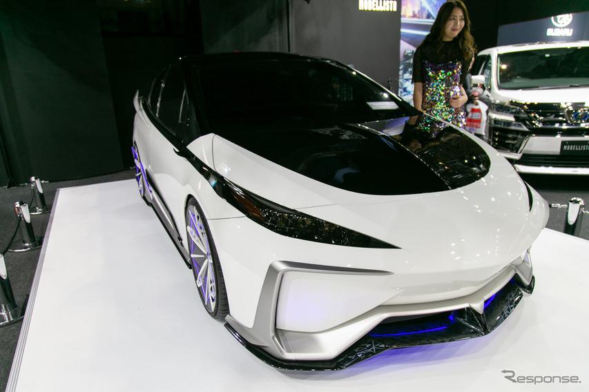 TRDの技術力とモデリスタのデザイン力を融合したプリウス・コンセプト…東京オートサロン2020