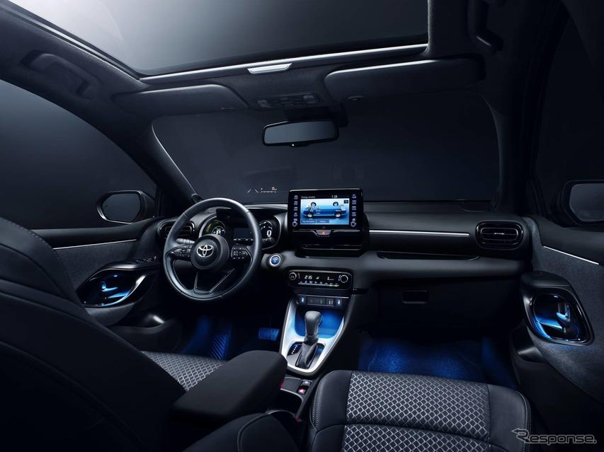 トヨタ・ヤリス 新型の欧州仕様(参考画像)