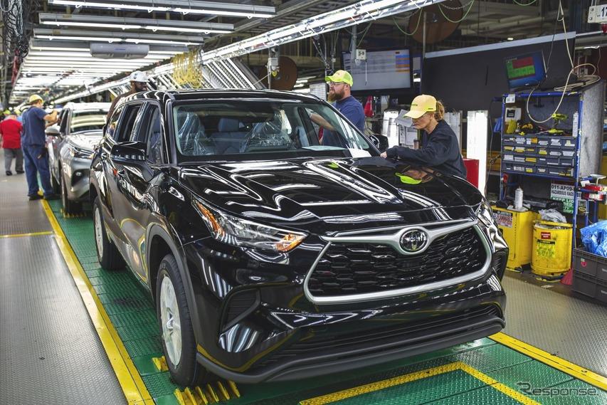 トヨタ、北米の生産体制を再編へ…SUVの生産効率向上目指す