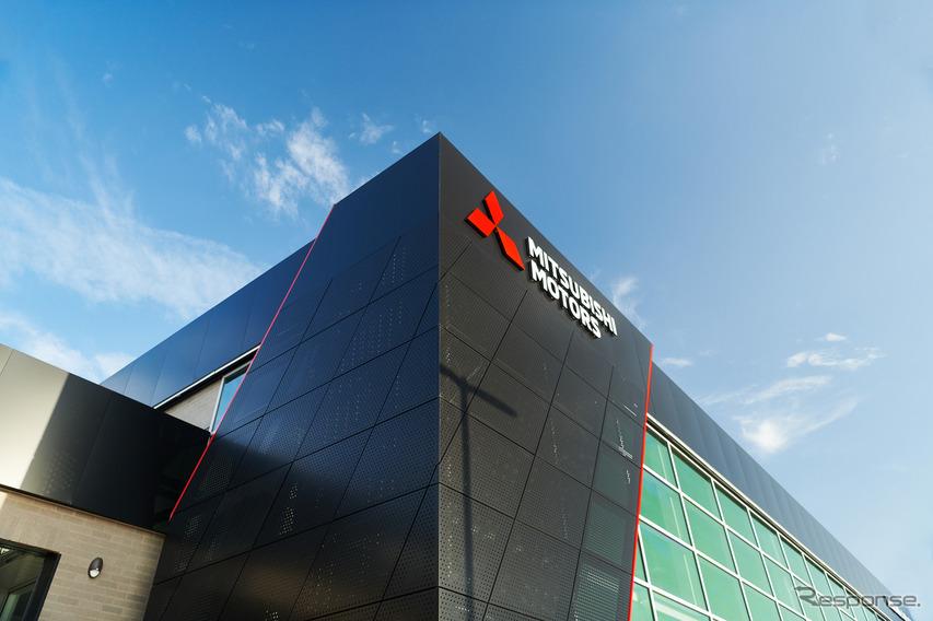 新グローバルディーラーデザインを導入した三菱の米国販売店