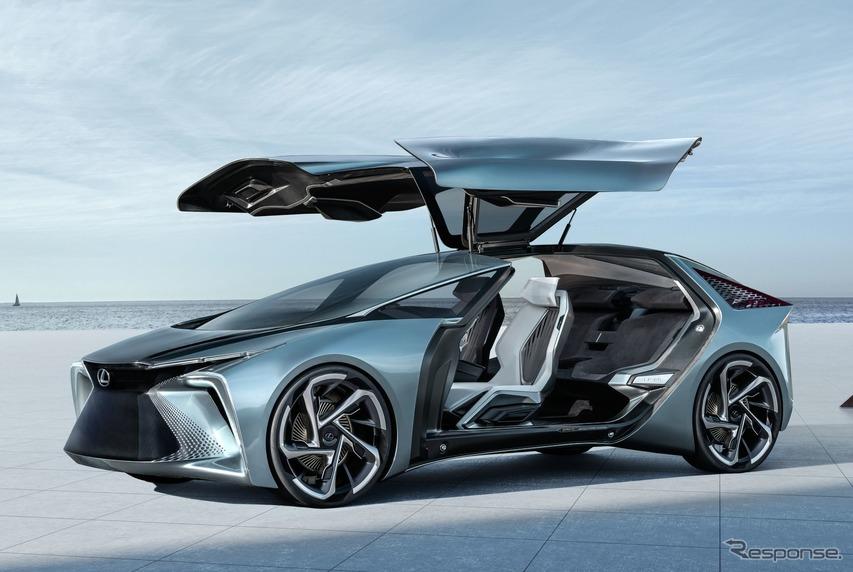 2030年のEV、レクサスは4モーターで544馬力…ジュネーブモーターショー2020[中止]出展予定