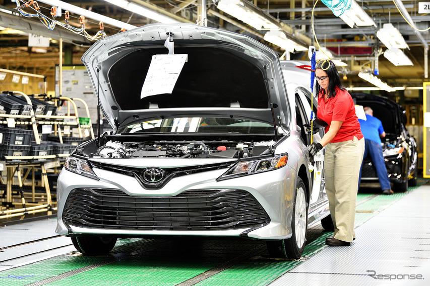 トヨタ、北米の全工場の休止を4月3日まで延長…新型コロナウイルス