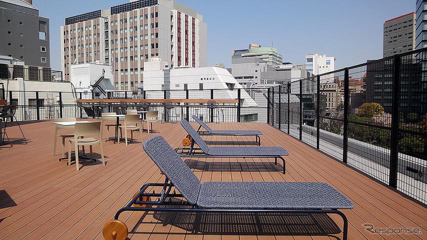 シェアオフィス「axle 御茶ノ水」オープン、屋上テラス付き…トヨタ社員寮を改装