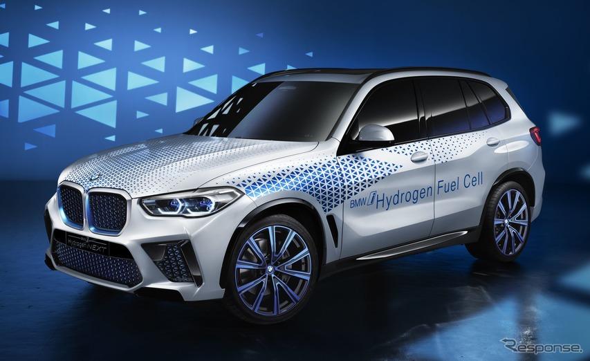 BMWの新型燃料電池車、モーターは最大出力374馬力…2022年に市販へ