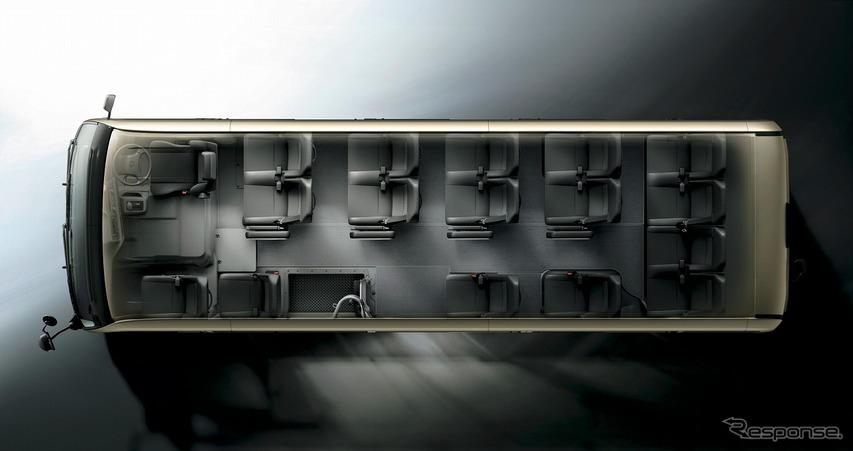 トヨタ コースター プレミアムキャビン