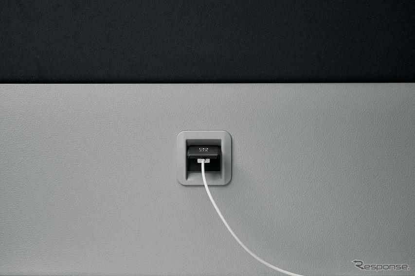 プレミアムキャビン専用充電用USB端子