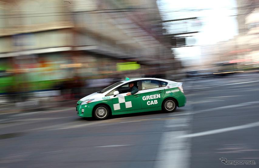 サンフランシスコのタクシー(2012年)