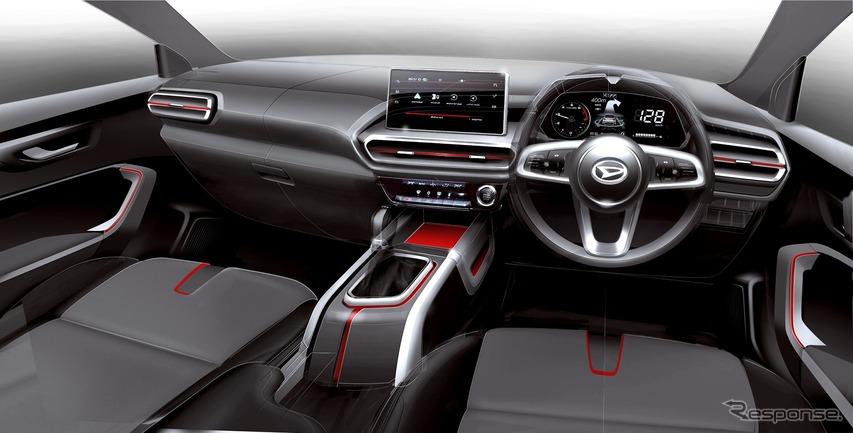 ダイハツ ロッキー 新型 インテリアがコンセプトカーから大きくイメチェンした理由[デザイナーインタビュー]