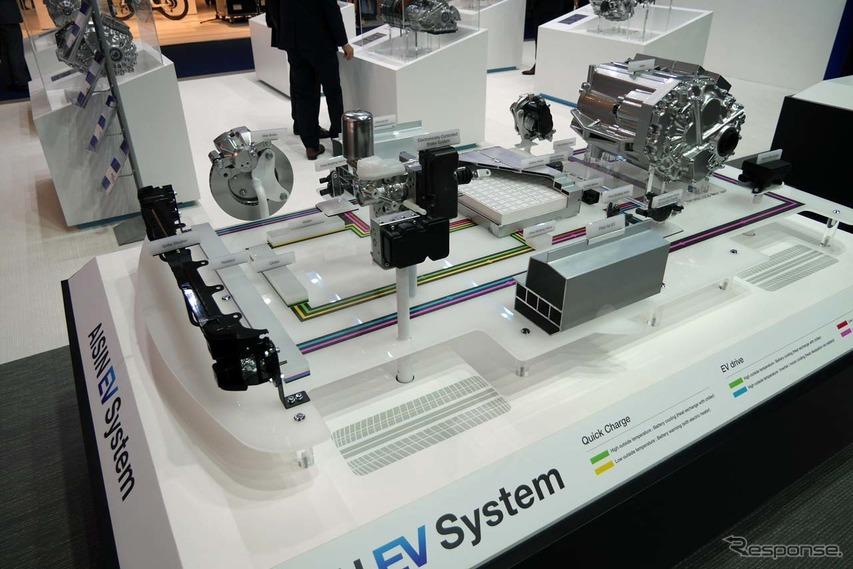 eAxleを中心とした『アイシンEV System 』
