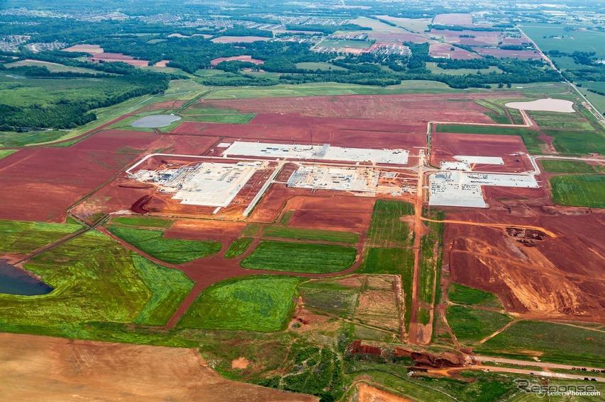 マツダとトヨタが米国アラバマ州に建設中の新工場