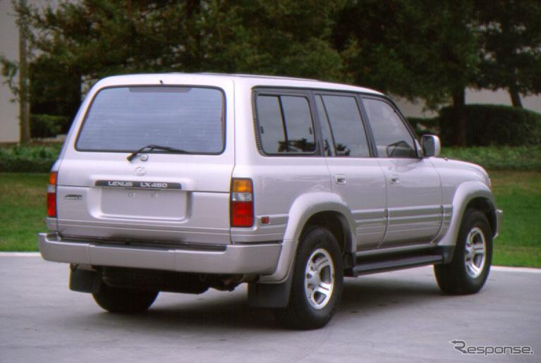 初代レクサス LX(トヨタ・ランドクルーザー 80 ベース)
