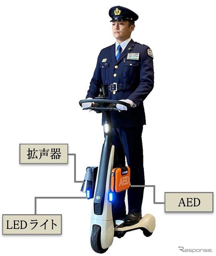 歩行領域EV(警備実証用モデル)