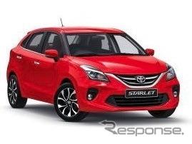 スズキOEM供給の「トヨタ・スターレット」、アフリカ市場での販売開始