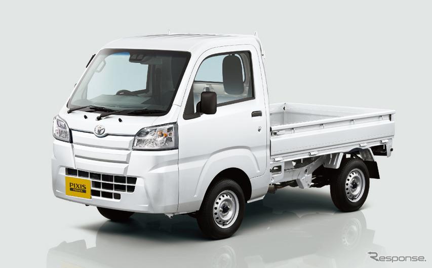 トヨタ ピクシストラック、後退時の誤発進抑制機能を追加