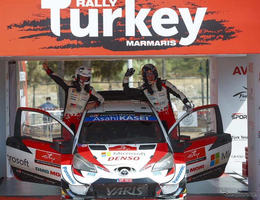 [WRC 第5戦]波乱のトルコ戦、トヨタのエルフィン・エバンスが制す