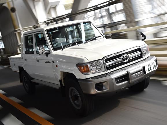 トヨタ ランドクルーザー70 試乗レポート ピックアップ編