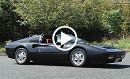 【動画】フェラーリ328GTS 試乗インプレッション 車両紹介編