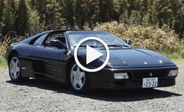 【動画】フェラーリ348GTS 試乗インプレッション 車両紹介編