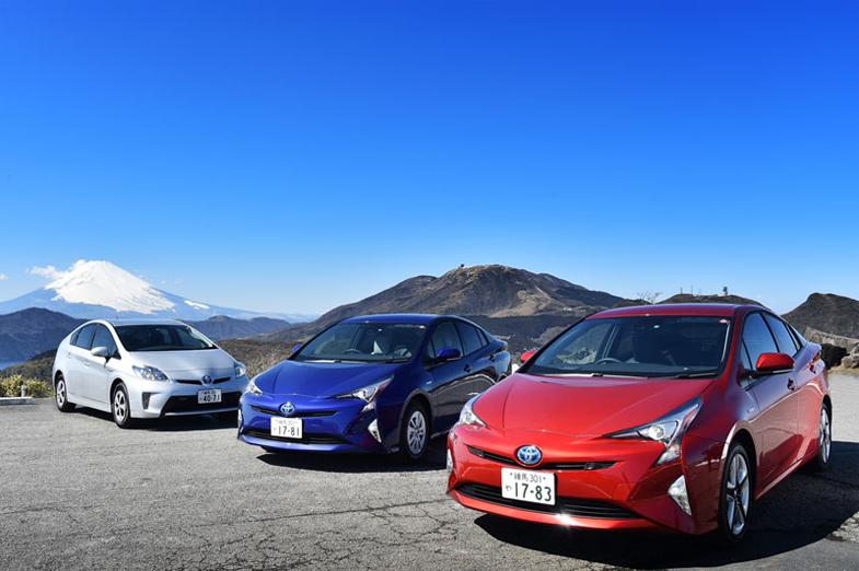 プリウスの実燃費は? 一般道、山道、東名高速で実証 | トヨタ自動車の ...