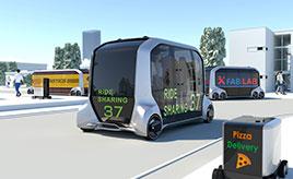 映画でしか見たことがなかった無人の自動運転車をスマホで呼び出して乗れるMaaSによる近未来とは