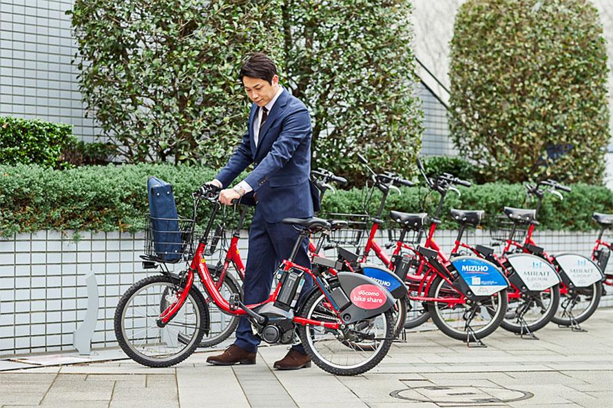 日本のバイクシェアでは、決められたサイクルポートでしか借り出しや返却ができない